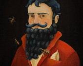 Headmaster Oddfellow Bluebeard Print / Oddfellow's 2012 Portraits - 8x10