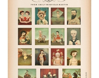Carnival Postcard Collection - Lost on the Midway by Emily Winfield Martin