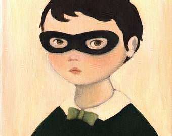 Bandit Boy Print 8x10 by Emily Winfield Martin