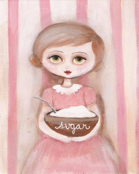 Sugar Girl Print