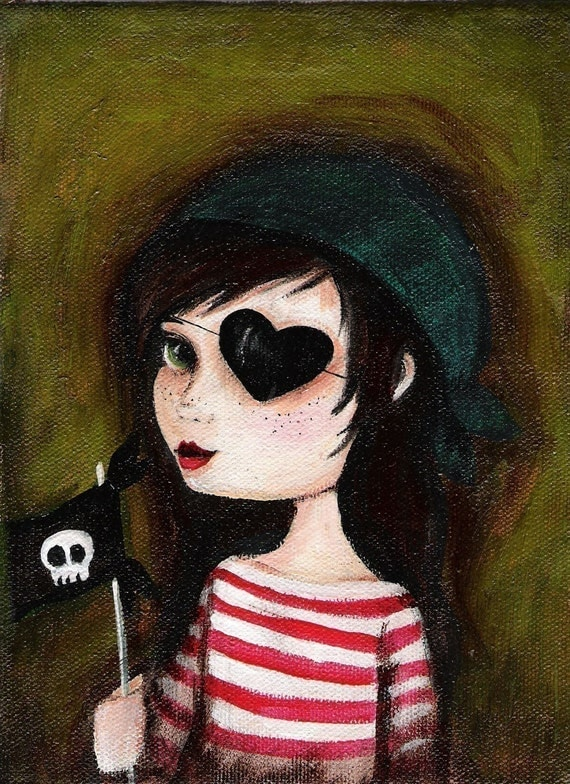 The Pirate Girl Print