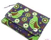 Multi Pocket Organizer Wallet - Scandi Birds & Owls Wallet