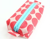 Box Pouch : Big Dots Postbox Red