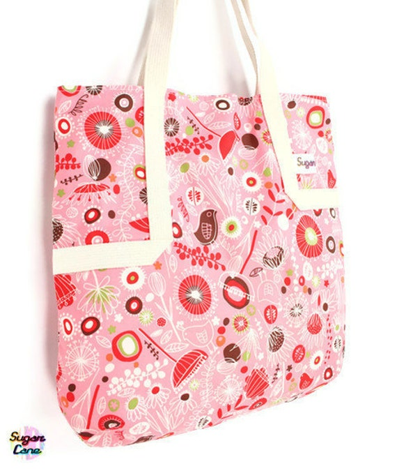 CLEARANCE SALE : Reusable Eco Shopper - Umbellifer Tote Bag