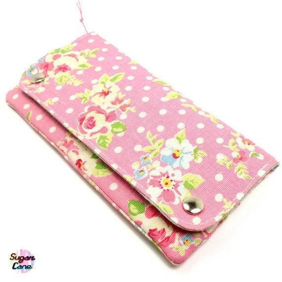CLEARANCE SALE : Multi Pocket Organizer Wallet Plus - Rosie Rosie Candy Pink