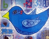 BIRD Blue Bird Notecard