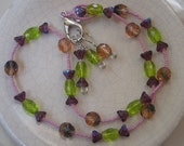 Sweet Candy Stitch Marker Necklace
