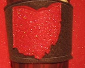 Ohio You Sparkle Like a Diamond coffee sleeve by AmyD