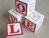 love alphabet block gift boxes - printable PDF