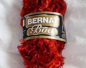 Bernat Boa Eyelash Yarn - Reddish Orange - Wholesale Prices