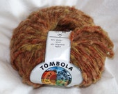 "Four Seasons ""Tombola"" - Thick and Thin Wool Blend Yarn - Browns"