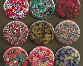 Pocket Mirrors - Liberty of London Fabrics