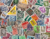 Lot of 300 Vintage and Modern Canceled Postage Stamps - All Countries