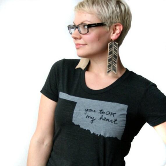 Women's You toOK my heart (Oklahoma) Tshirt - FREE SHIPPING