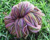 Swamp Thing handdyed wool sock yarn