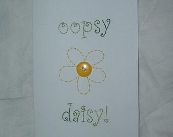 oopsy daisy card