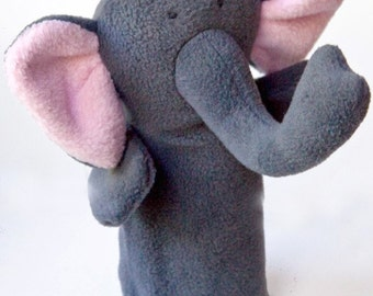 ella the elephant puppet