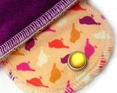 Pantyliner Little Birds Organic Moon Pad Reusable Menstrual Pad