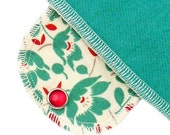 Pantyliner Apron Flowers Moonpads Organic Cotton Reusable Washable Cloth Menstrual Pads