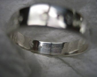 The Latinate Collection Custom Sterling Ring