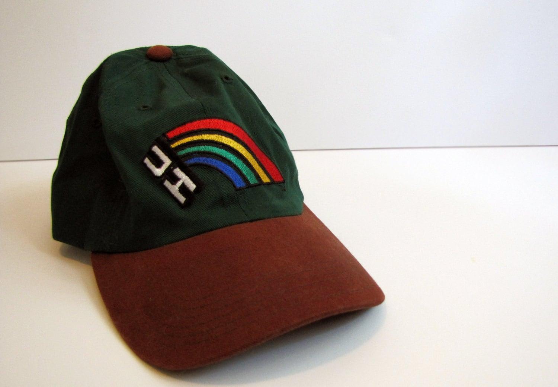 Vintage University Of Hawaii Baseball Cap Uh Hat By Pinkbird