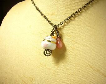 Cute pink maneki neko cat brass necklace id1250762 jewelry, jewellery, luck beckoning cat of japan, collier