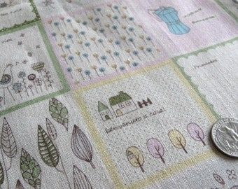 Japanese TEA TIME Fabric 1FQ (Pink)