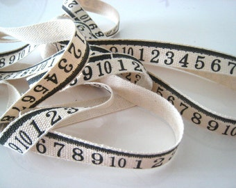 NUMERIC Print Fabric Ribbon Trim