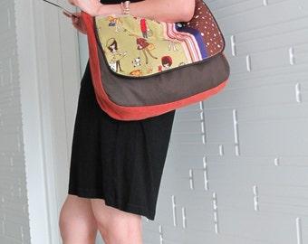 Retro GIRLs Saddle Hobo Bag