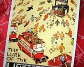 The Lure Of The Underground British Art Print