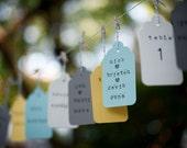 Charming Hang Tag Escort Cards