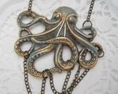 Under the Sea OCTOPUS Necklace