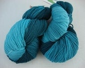 DEEP SEA merino sock yarn