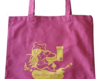 Morning After Tote in Maroon