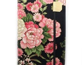 Kindle 4 Cover - Peony Garden Asian floral - hard sided cover for small kindle without keyboard - ready to ship