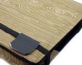 Kindle Keyboard cover - Faux Bois Woodgrain - kindle 3 hardcover - ready to ship