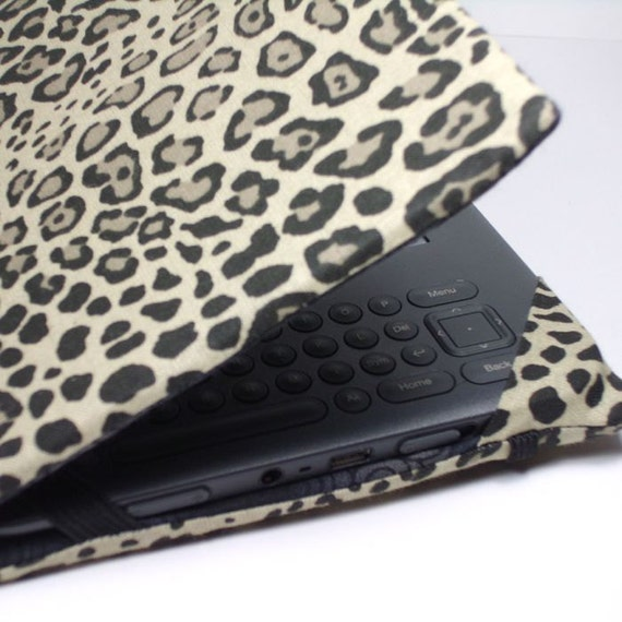 Kindle Keyboard cover - Leopard Print - hard sided Kindle 3 cover - ready to ship