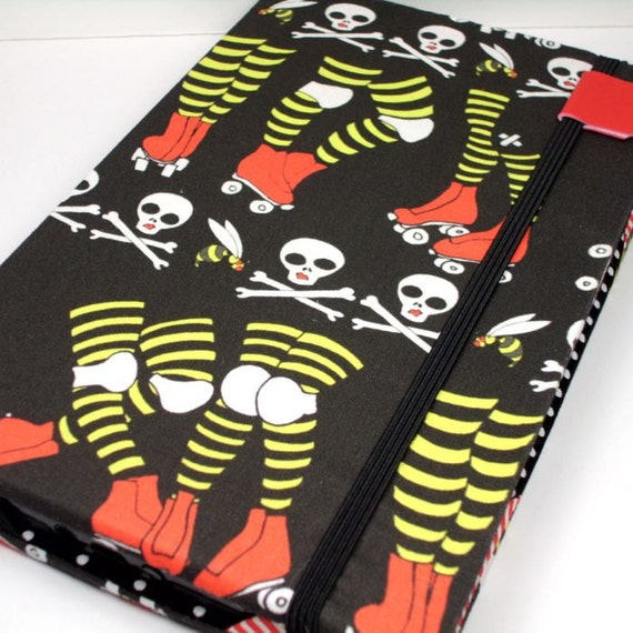 Kindle Fire cover - Roller Derby - Kindle hardcover FIRST GEN kindle Fire