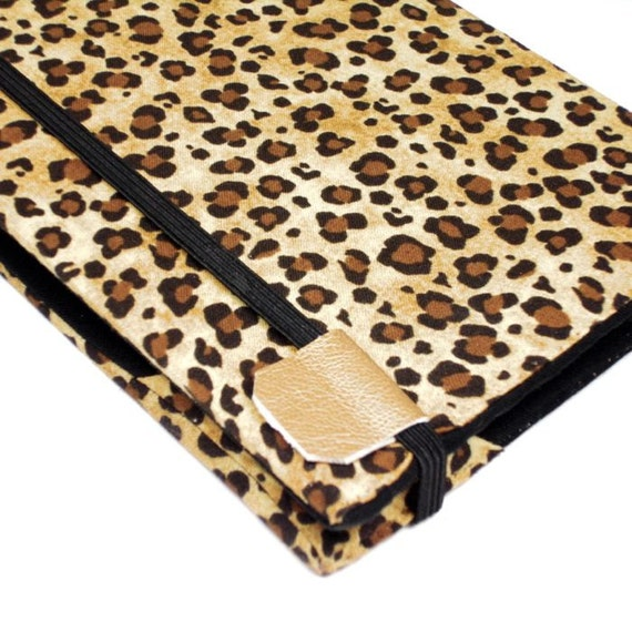 Kindle 4 Cover - Leopard Print - hard cover - ready to ship