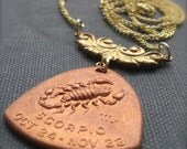 The Scorpion Scorpio Horoscope Zodiac Astrology Necklace