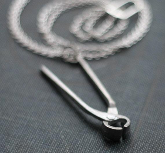 Pliers Hardware Handyman Tool Necklace