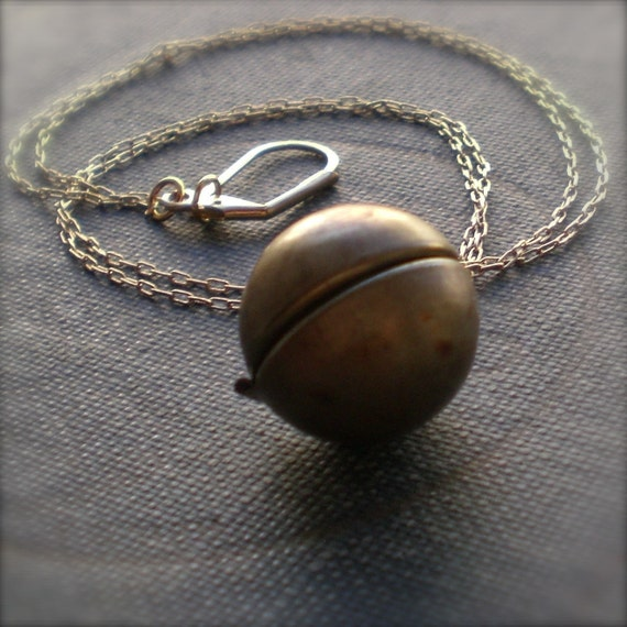 Le Monde Ball Locket Necklace with Free Shipping