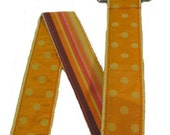 Reversible Orange Ribbon Belt