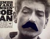 Navy Blue Inspector Mustache