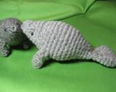 Pattern - Crocheted Manatee Amigurumi