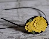 Flower Petal Headband | Spring | Wedding | Bridesmaids | Custom Colors