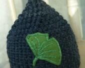 RESERVED FOR LuthienNightingale--Newborn Ginkgo Hat