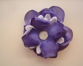 Sweet Little Thing - Upcycled Silk Flower Brooch