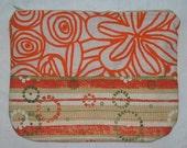 Eclectic Oranges Zipper Pouch