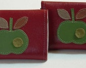 Green Apple Vinyl Wallet